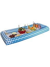 BIG MOUTH Inflatabuffet | BLUE GINGHAM