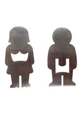 BIG MOUTH His & Hers Bottle Opener