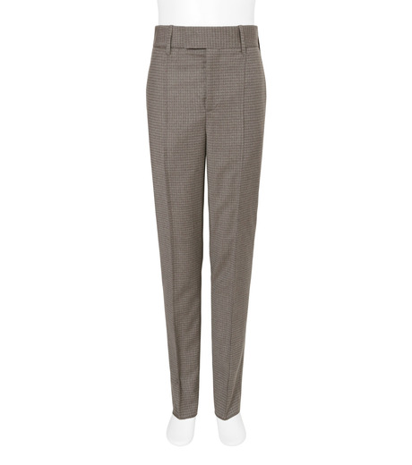 Neil Barrett(ニール バレット)のHoundtooth Trousers-GRAY(パンツ/pants)-BPA314-11 詳細画像1