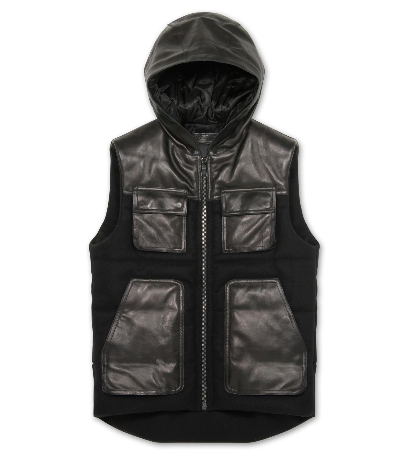 Neil Barrett(ニール バレット)のDown vest-BLACK-BPE257-13 拡大詳細画像1