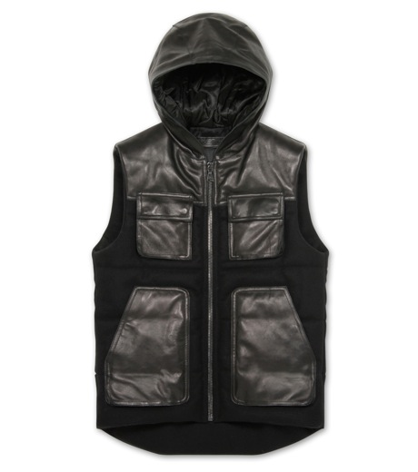 Neil Barrett(ニール バレット)のDown vest-BLACK-BPE257-13 詳細画像1