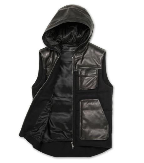 Neil Barrett(ニール バレット)のDown vest-BLACK-BPE257-13 詳細画像2