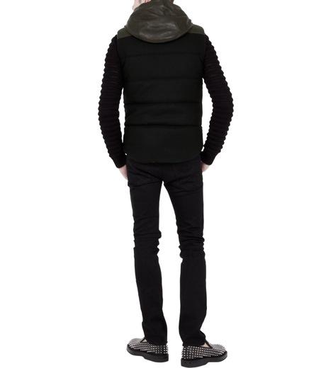 Neil Barrett(ニール バレット)のDown vest-BLACK-BPE257-13 詳細画像4