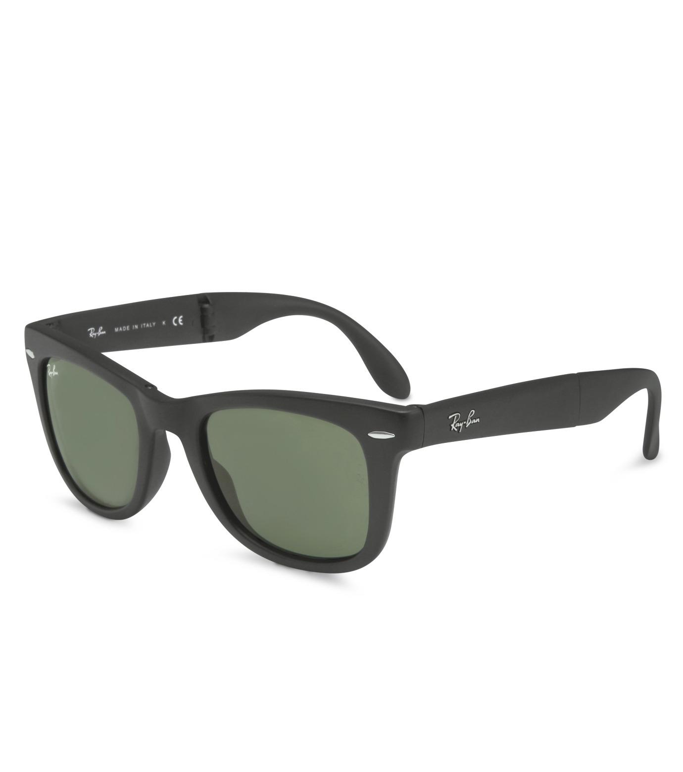 Ray-Ban(レイバン)のWayfarer Matte Black-CHARCHOL GRAY(アイウェア/eyewear)-BR-4105-12 拡大詳細画像1
