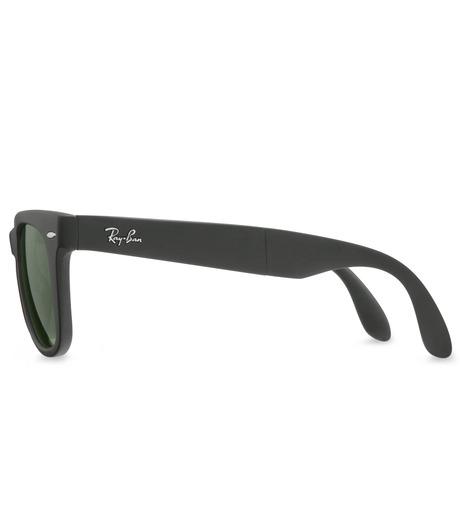 Ray-Ban(レイバン)のWayfarer Matte Black-CHARCHOL GRAY(アイウェア/eyewear)-BR-4105-12 詳細画像2