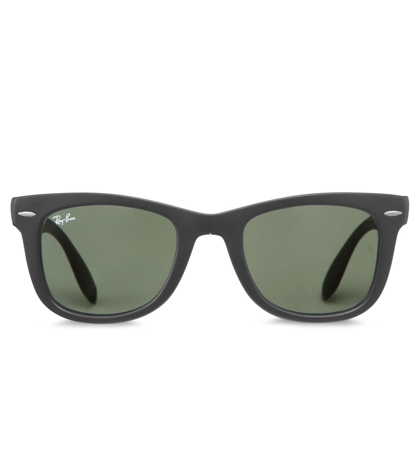Ray-Ban(レイバン)のWayfarer Matte Black-CHARCHOL GRAY(アイウェア/eyewear)-BR-4105-12 拡大詳細画像3