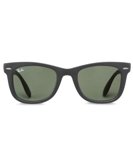 Ray-Ban(レイバン)のWayfarer Matte Black-CHARCHOL GRAY(アイウェア/eyewear)-BR-4105-12 詳細画像3