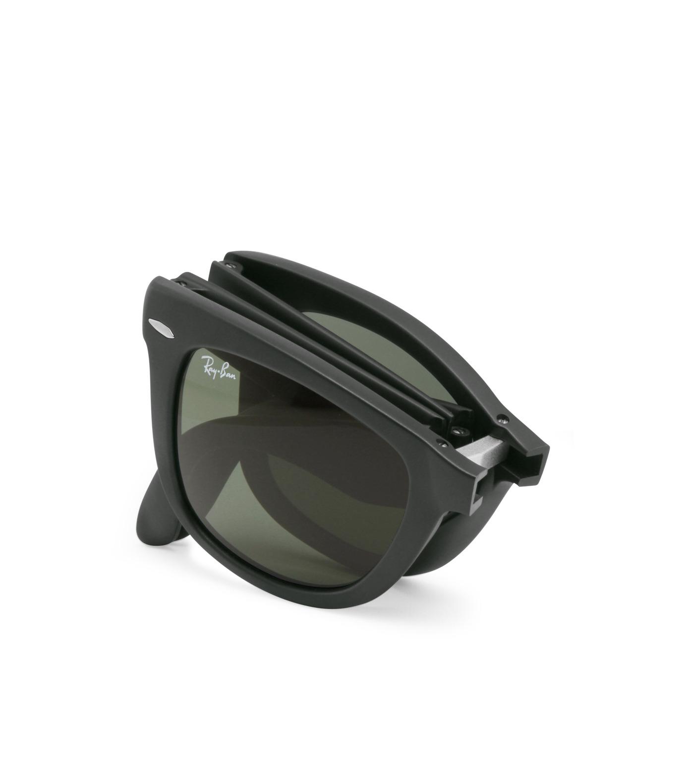 Ray-Ban(レイバン)のWayfarer Matte Black-CHARCHOL GRAY(アイウェア/eyewear)-BR-4105-12 拡大詳細画像4