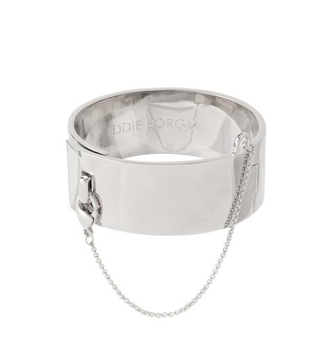 Eddie Borgo(エディ・ボルゴ)のSAFETY CHAIN CUFF-SILVER(ブレスレット/bracelet)-BR9002-16-1 詳細画像1