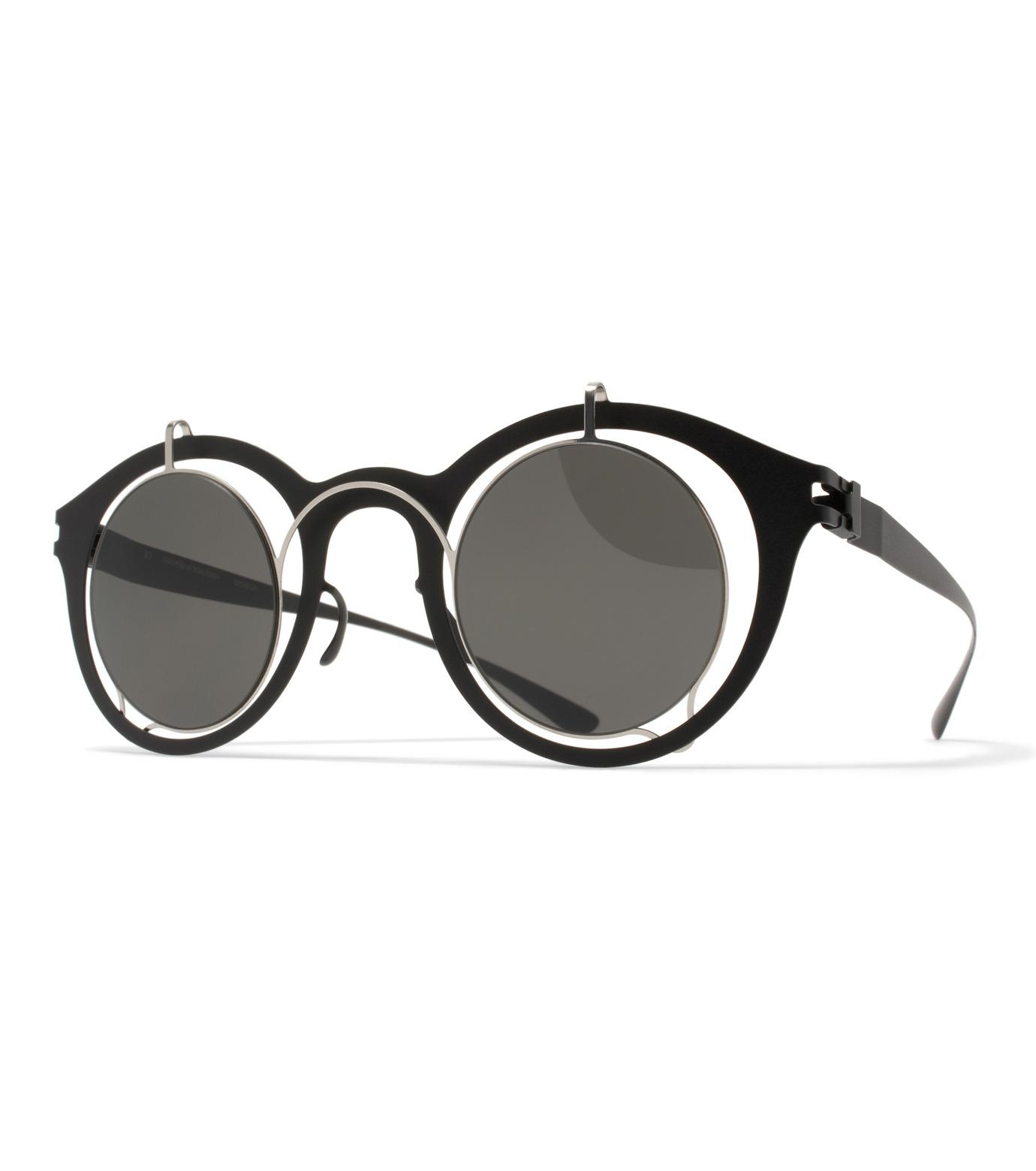 MYKITA(マイキータ)のBRADFIELD SUN-BLACK(アイウェア/eyewear)-BRADFIELDSUN-13 拡大詳細画像1