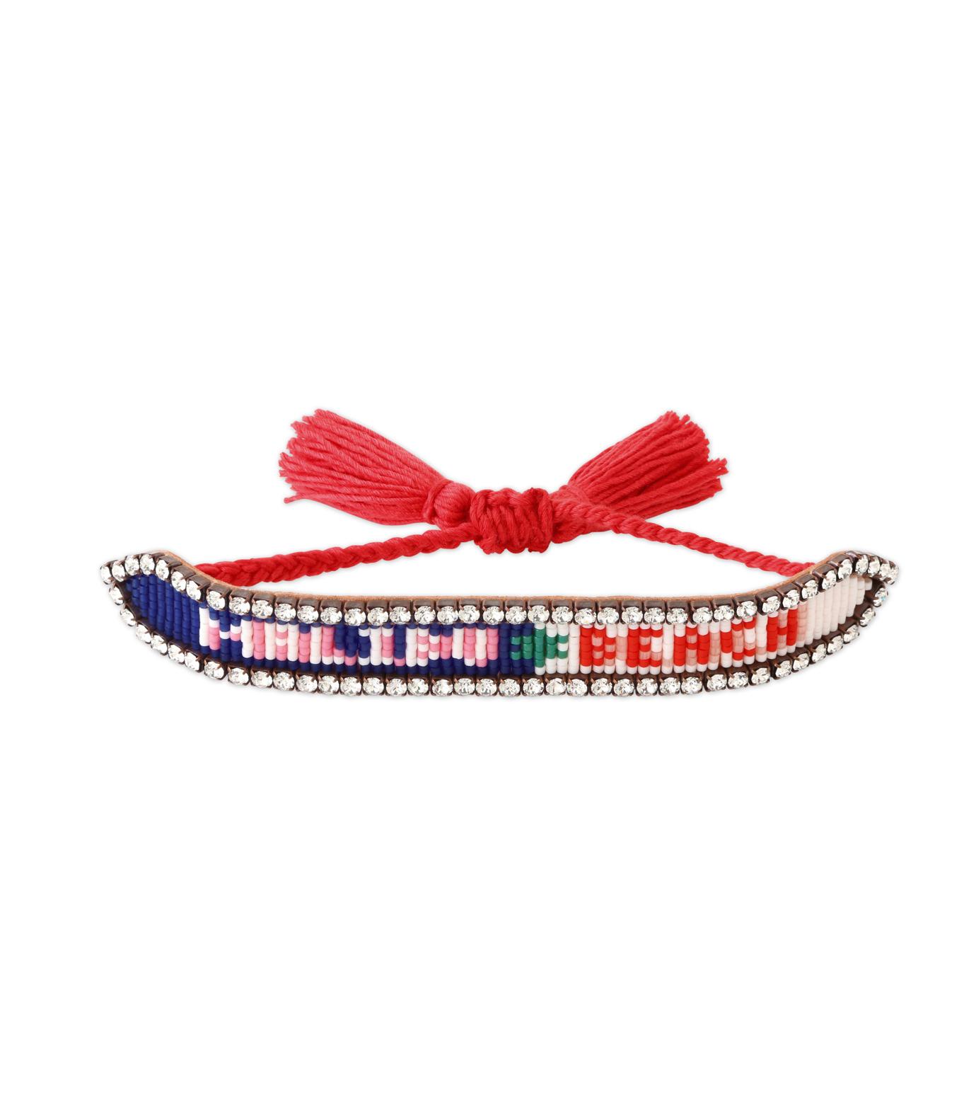 Shourouk(シュローク)のMalibu Beach Bracelet-NEON ORANGE(ブレスレット/bracelet)-BRSS16-001-60 拡大詳細画像1
