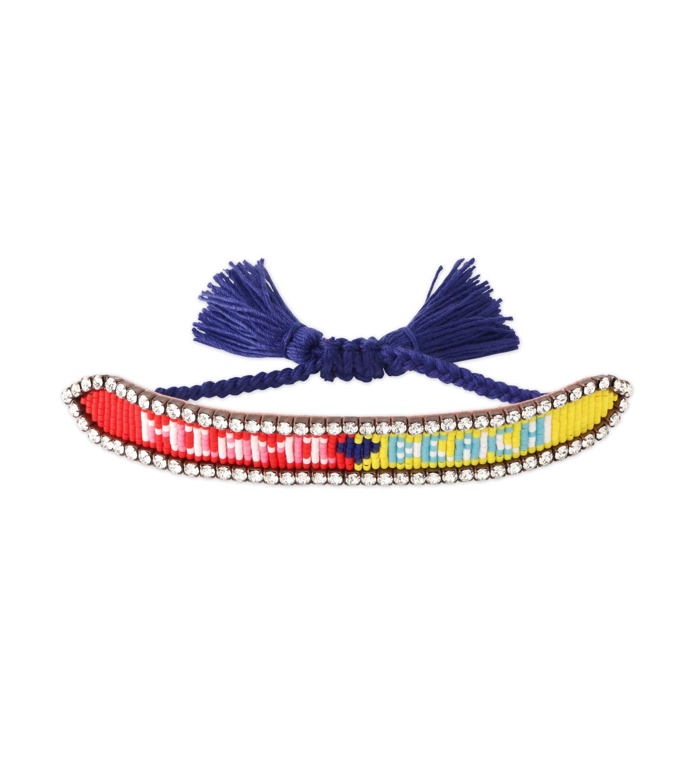 Shourouk(シュローク)のMiami Beach Bracelet-BLUE(ブレスレット/bracelet)-BRSS16-001-92 拡大詳細画像1