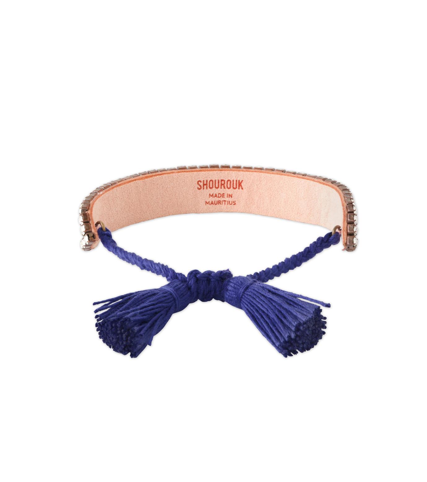Shourouk(シュローク)のMiami Beach Bracelet-BLUE(ブレスレット/bracelet)-BRSS16-001-92 拡大詳細画像2