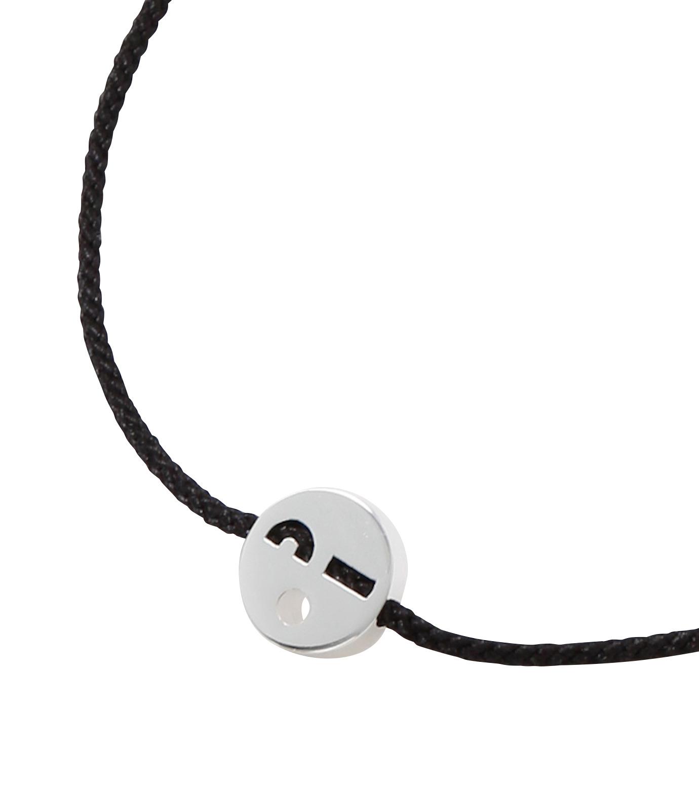 RUIFIER(ルイフフェラ)のFriends Bracelet Silver-BLACK(ブレスレット/bracelet)-BSL56VD0K-13 拡大詳細画像2