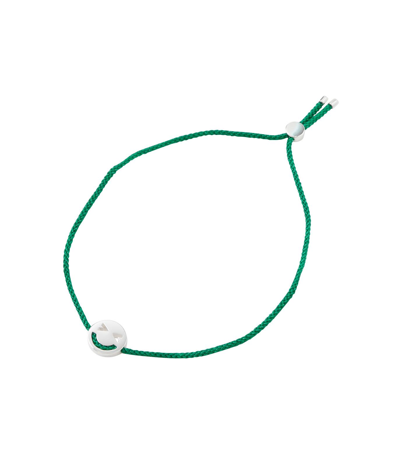 RUIFIER(ルイフフェラ)のFriends Bracelet Silver-GREEN(ブレスレット/bracelet)-BSL57VE0G-22 拡大詳細画像1
