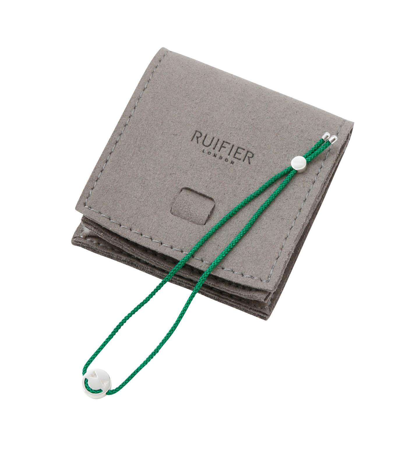RUIFIER(ルイフフェラ)のFriends Bracelet Silver-GREEN(ブレスレット/bracelet)-BSL57VE0G-22 拡大詳細画像3
