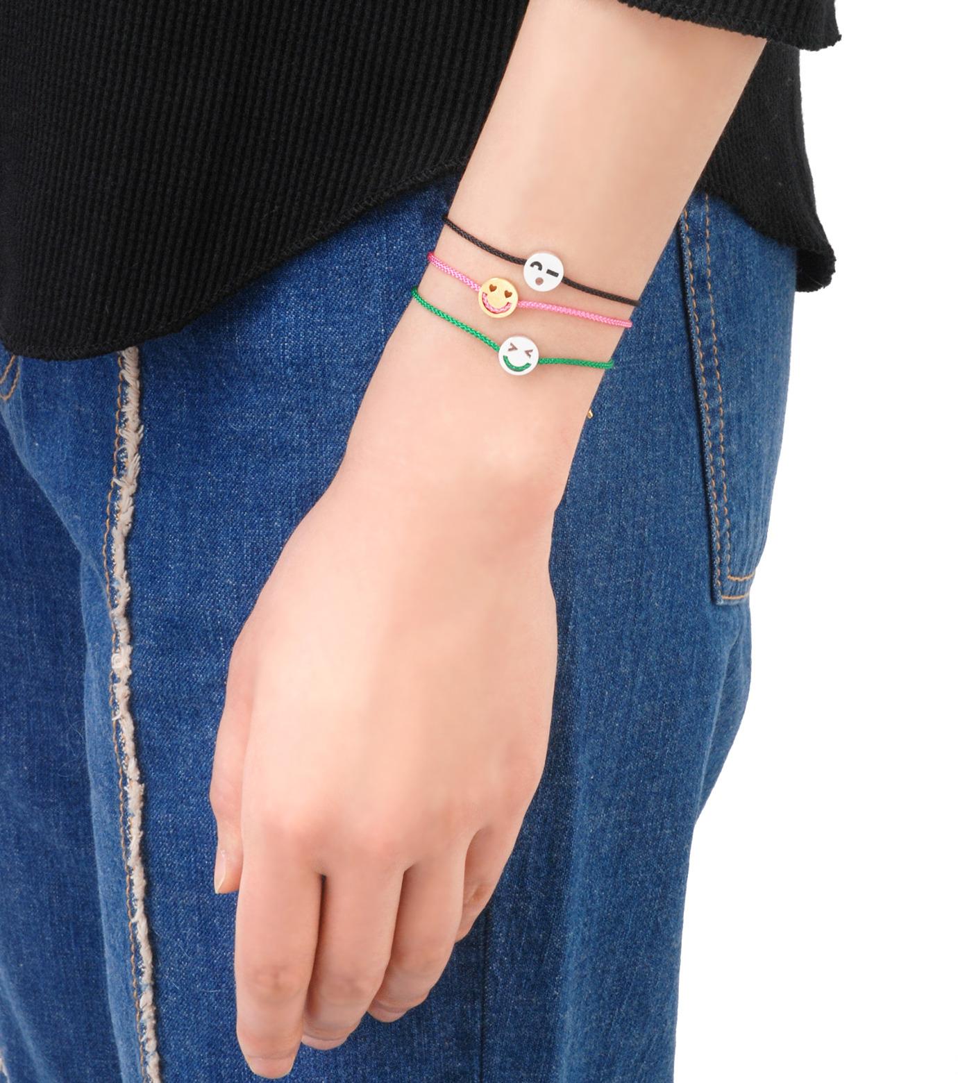 RUIFIER(ルイフフェラ)のFriends Bracelet Silver-GREEN(ブレスレット/bracelet)-BSL57VE0G-22 拡大詳細画像4