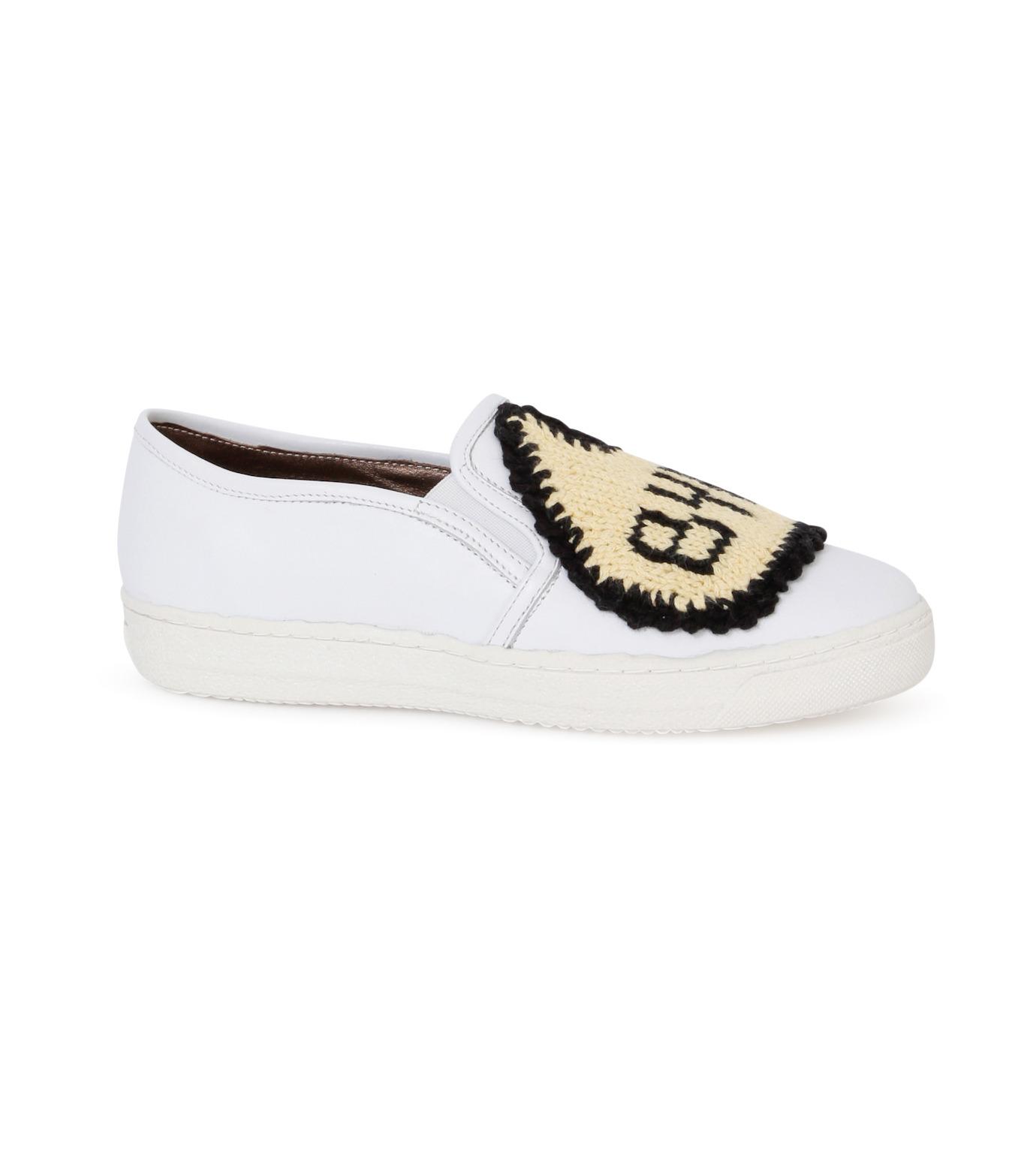 Michaela Buerger(ミカエラ バーガー)のSneaker Bye Bye-WHITE(スニーカー/sneaker)-BYEBYE-4 拡大詳細画像1