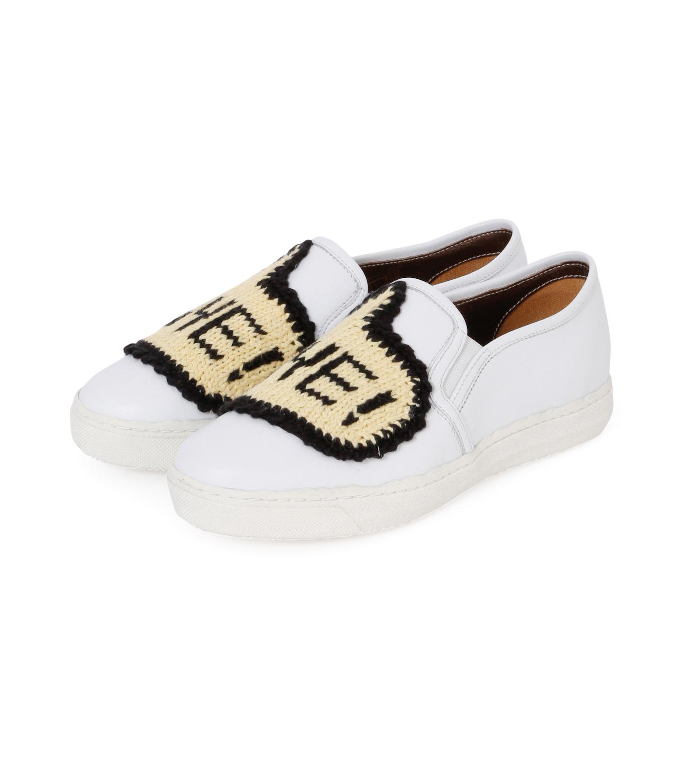 Michaela Buerger(ミカエラ バーガー)のSneaker Bye Bye-WHITE(スニーカー/sneaker)-BYEBYE-4 拡大詳細画像2