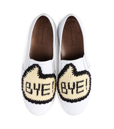 Michaela Buerger(ミカエラ バーガー)のSneaker Bye Bye-WHITE(スニーカー/sneaker)-BYEBYE-4 詳細画像4
