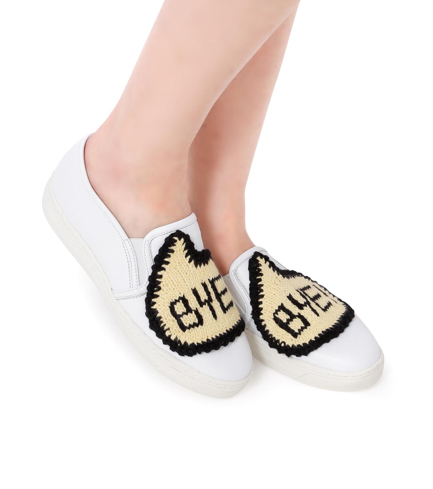 Michaela Buerger(ミカエラ バーガー)のSneaker Bye Bye-WHITE(スニーカー/sneaker)-BYEBYE-4 拡大詳細画像5
