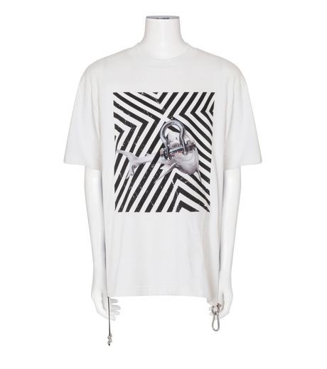 CAVIALE(カビアーレ)のPrinted T-WHITE(カットソー/cut and sewn)-C210-C215-4 詳細画像1