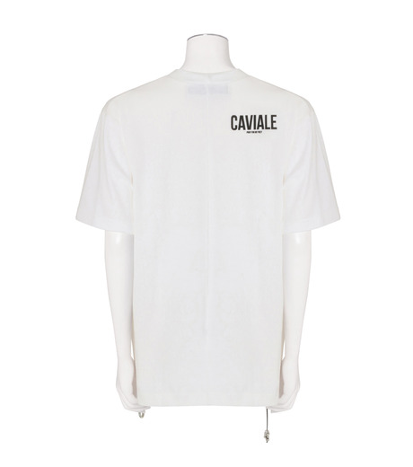 CAVIALE(カビアーレ)のPrinted T-WHITE(カットソー/cut and sewn)-C210-C215-4 詳細画像2