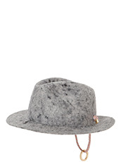 Federica Moretti(フェデリカ モレッティ) Boiled felt Hat w/Rope