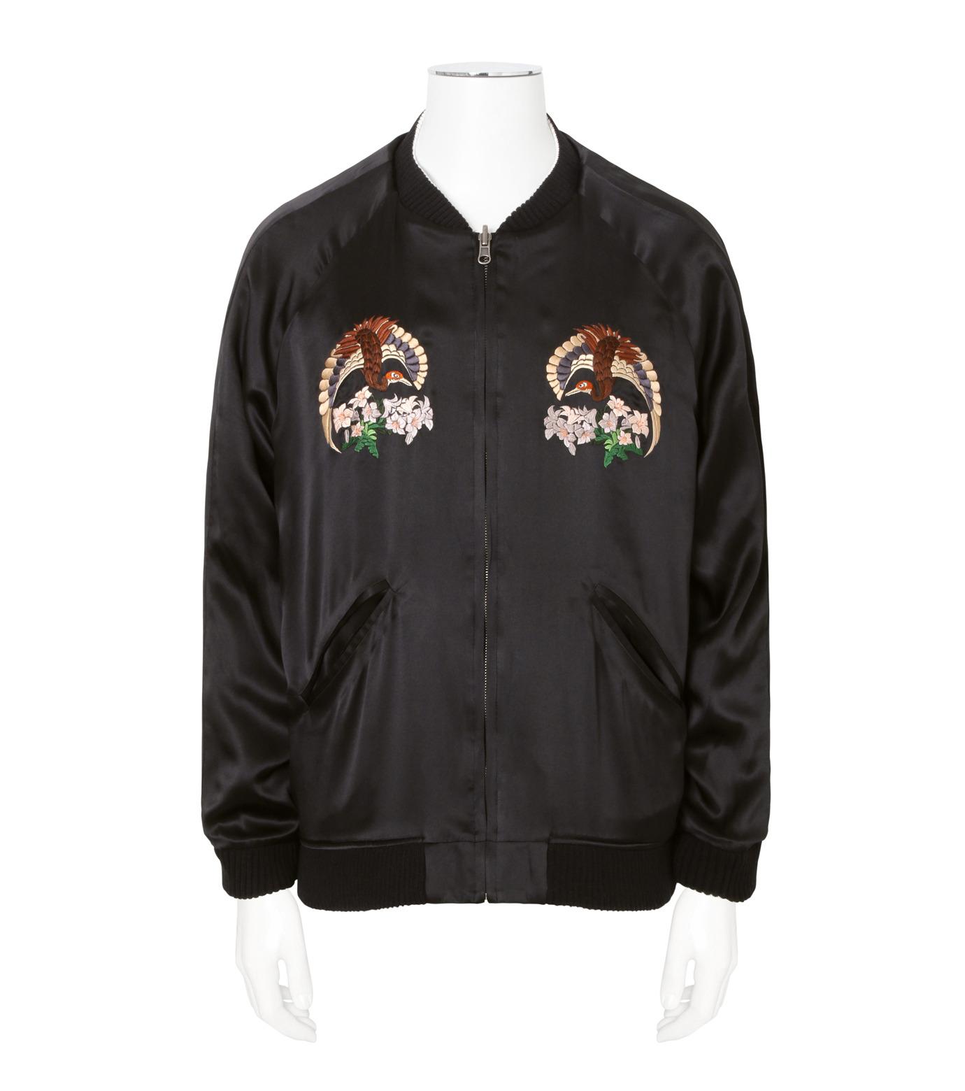 CHRISTIAN DADA(クリスチャン ダダ)のEmbroidery Reversible Souvenir Jacket-BLACK(ブルゾン/blouson)-CD-16W-0101R-13 拡大詳細画像3