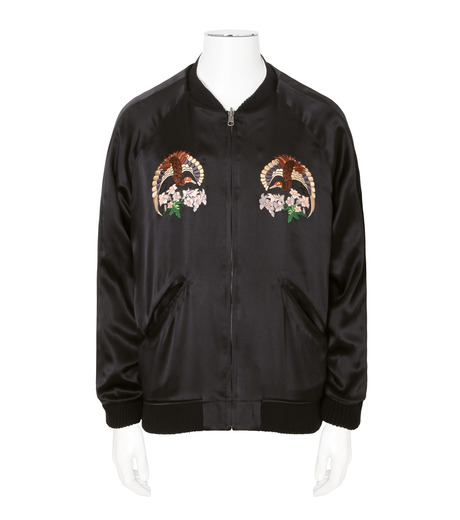 CHRISTIAN DADA(クリスチャン ダダ)のEmbroidery Reversible Souvenir Jacket-BLACK(ブルゾン/blouson)-CD-16W-0101R-13 詳細画像3
