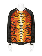 CHRISTIAN DADA Embroidery Reversible Souvenir Jacket