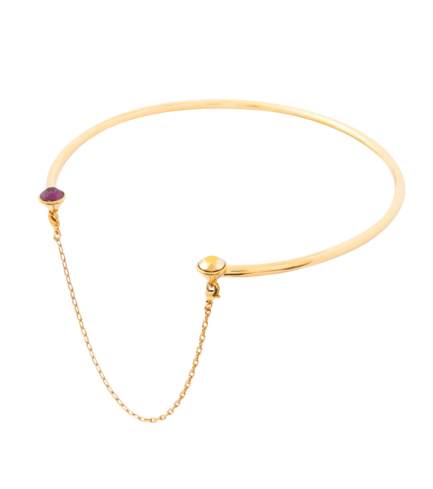 Maria Francesca Pepe(マリア フランチェスカ ペペ)のPunk Kiss Neck Cuff-GOLD(ネックレス/necklace)-CH171-23-2 拡大詳細画像3