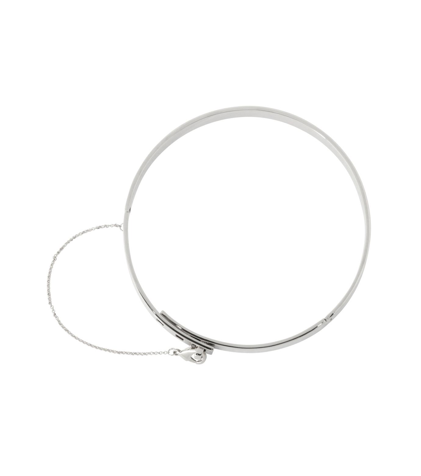 Eddie Borgo(エディ・ボルゴ)のSMALL SAFTY CHAIN CHOKER-SILVER(ネックレス/necklace)-CK1003-R-1 拡大詳細画像3