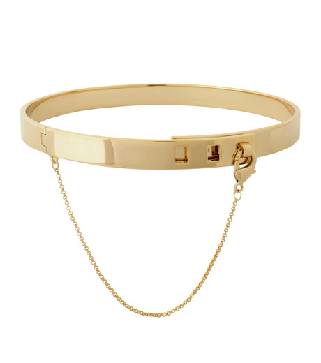 Eddie Borgo(エディ・ボルゴ)のSMALL SAFTY CHAIN CHOKER-GOLD(ネックレス/necklace)-CK1003-R-2 詳細画像1
