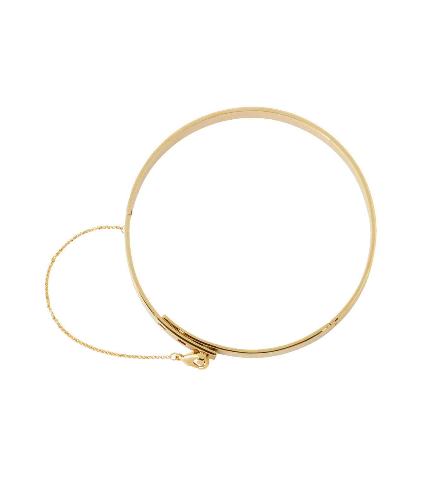 Eddie Borgo(エディ・ボルゴ)のSMALL SAFTY CHAIN CHOKER-GOLD(ネックレス/necklace)-CK1003-R-2 拡大詳細画像3