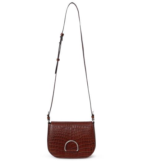 Little Liffner(リトル リフナー)のSaddleStyle D-ring-DARK BROWN(ショルダーバッグ/shoulder bag)-CR2784-53 詳細画像1