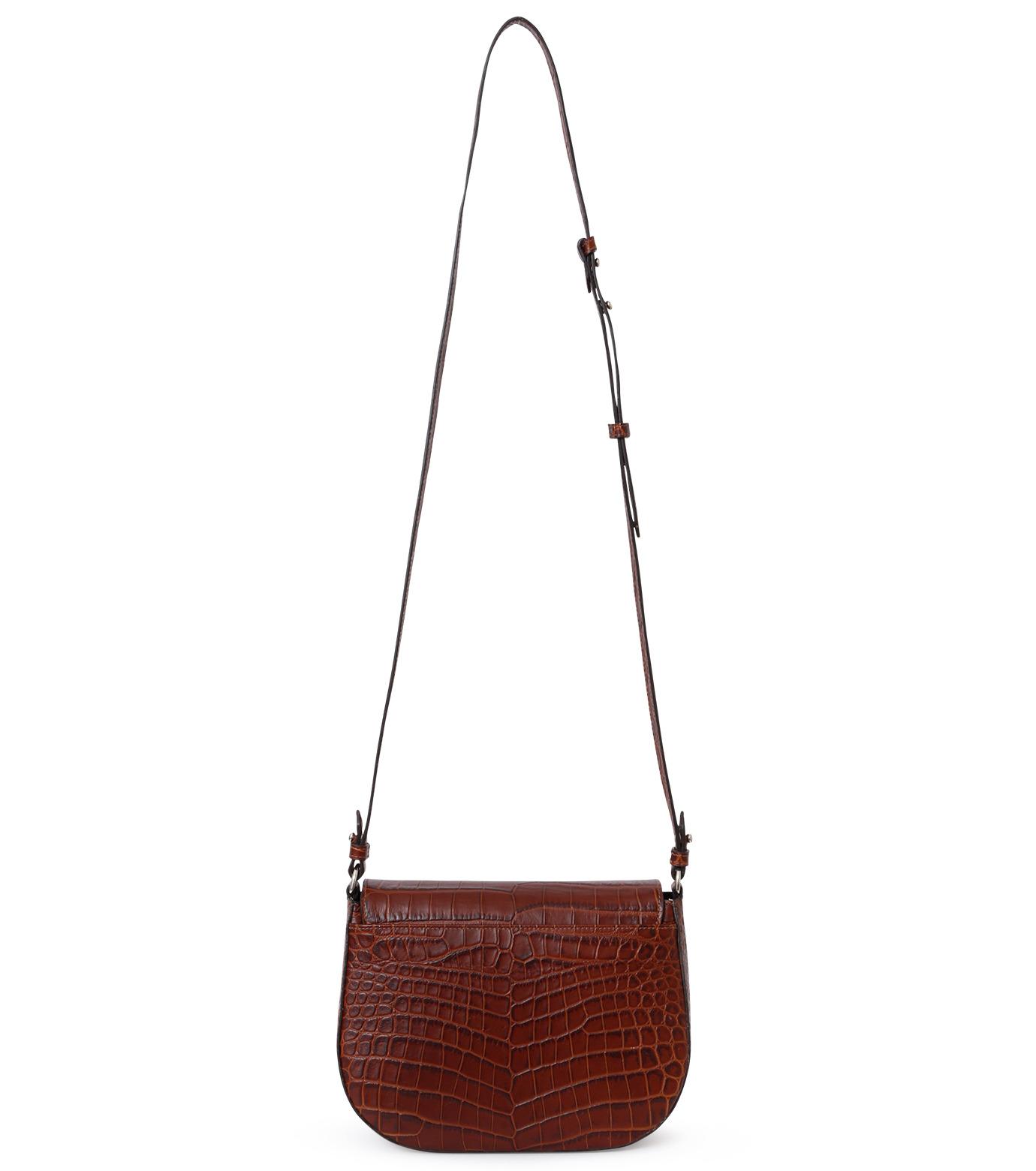 Little Liffner(リトル リフナー)のSaddleStyle D-ring-DARK BROWN(ショルダーバッグ/shoulder bag)-CR2784-53 拡大詳細画像2