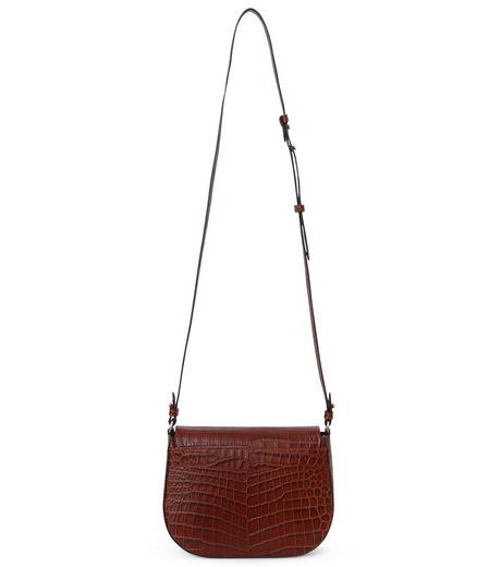 Little Liffner(リトル リフナー)のSaddleStyle D-ring-DARK BROWN(ショルダーバッグ/shoulder bag)-CR2784-53 詳細画像2