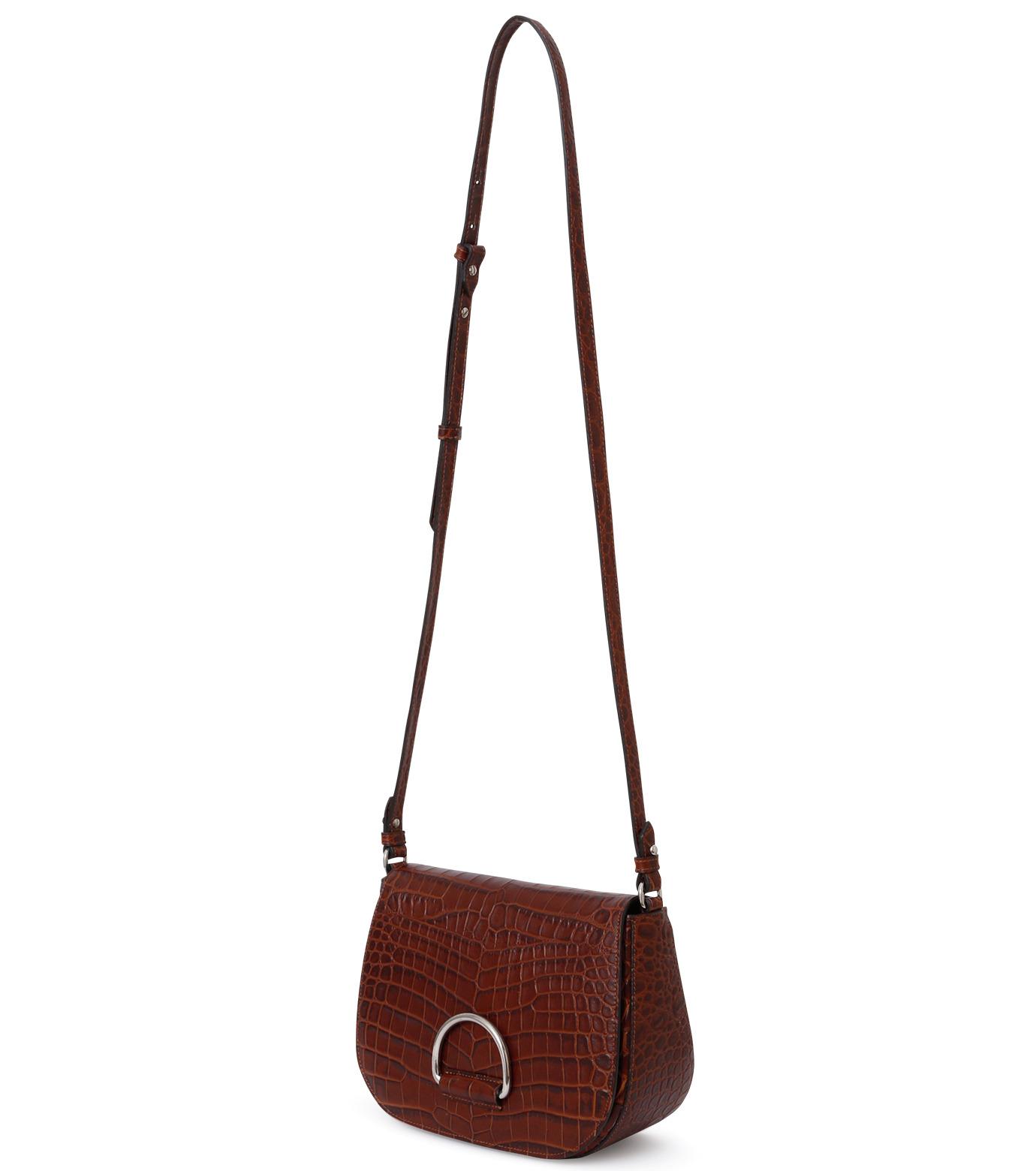 Little Liffner(リトル リフナー)のSaddleStyle D-ring-DARK BROWN(ショルダーバッグ/shoulder bag)-CR2784-53 拡大詳細画像3