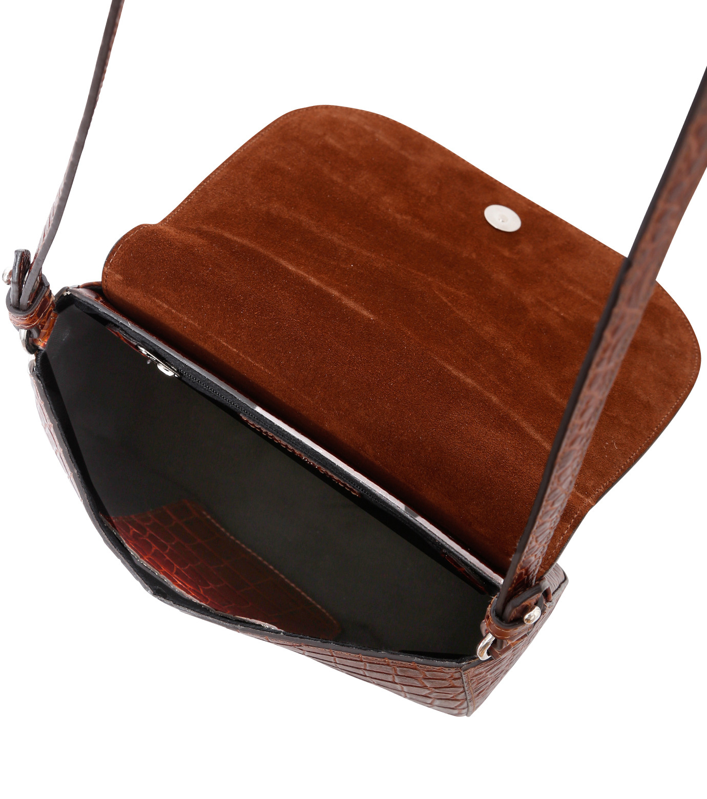 Little Liffner(リトル リフナー)のSaddleStyle D-ring-DARK BROWN(ショルダーバッグ/shoulder bag)-CR2784-53 拡大詳細画像4