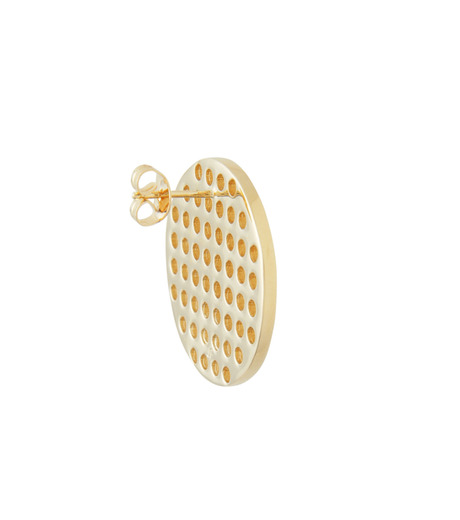 Jennifer Fisher(ジェニファーフィッシャー)のCircle Studs-GOLD-Circle-Stud-2 詳細画像3