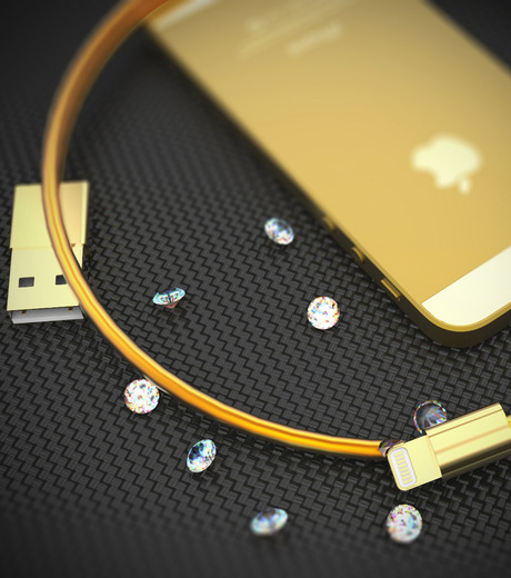 Spiff Thing()のBillionaire's Golden Lighting Connector-GOLD(ガジェット/gadgets)-Connector-2 詳細画像3