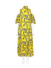Ellery() Floral Print Cutout Dress
