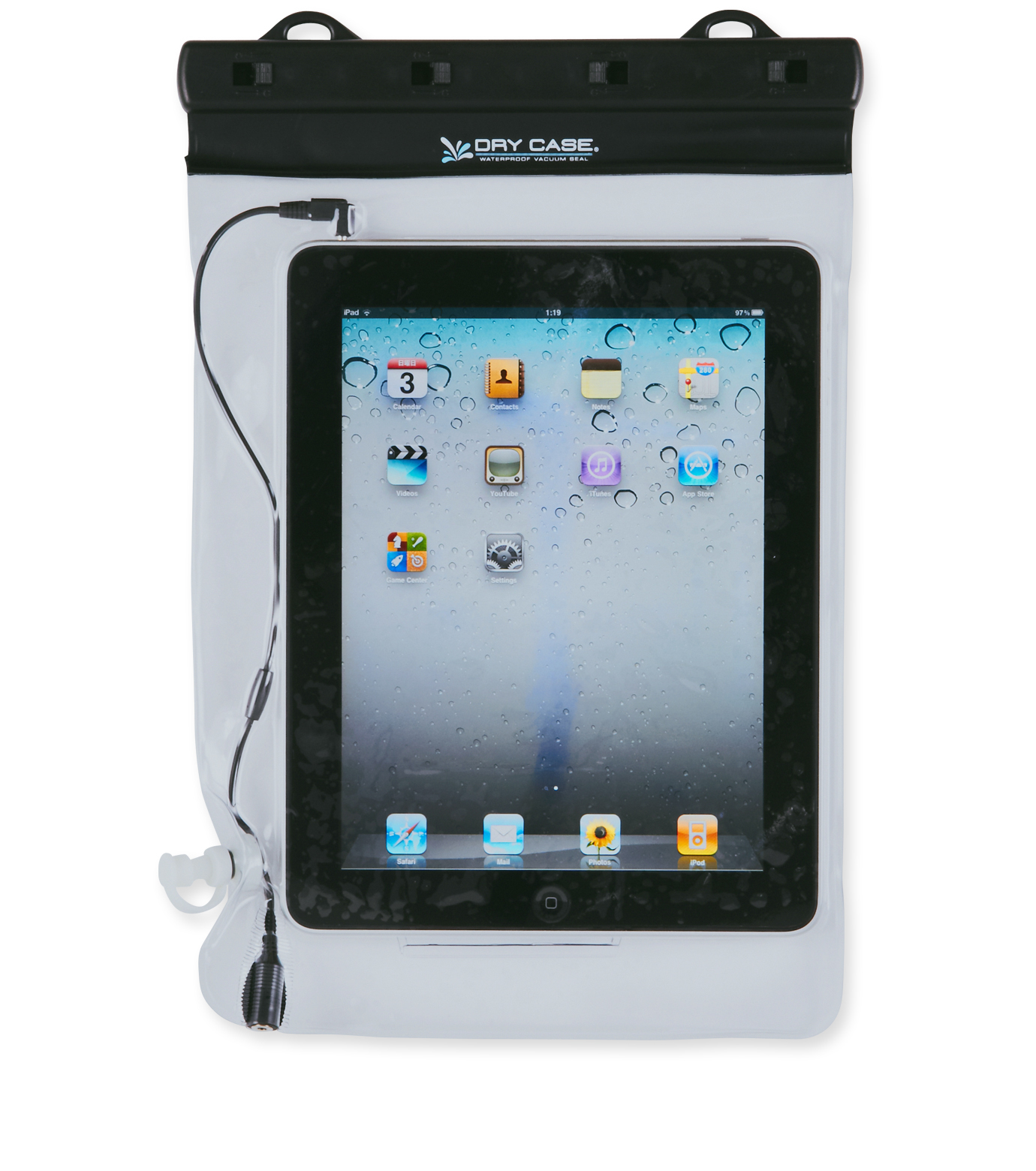 Drycase(ドライケース)のDRY CASE Tablet-BLACK-DC-17 拡大詳細画像1