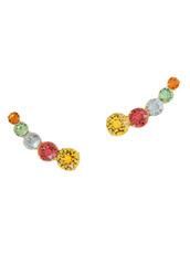 Ca&Lou(カー・アンド・ロウ) Multicolor Stone Earcuff