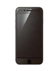 DeFF Hybrid 3D Glass Screen Protector for iPhone 7 Carbon Black