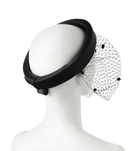 Federica Moretti(フェデリカ モレッティ)のHeadband w/Veil-BLACK(HAIR ACCESSORIES/HAIR ACCESSORIES)-DIANA2-13 詳細画像2