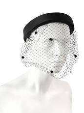 Federica Moretti Headband w/Veil
