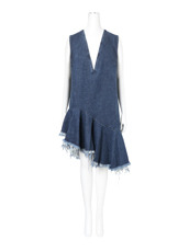 Marques Almeida(マルケスアルメイダ) Denim Sless Vneck Dress