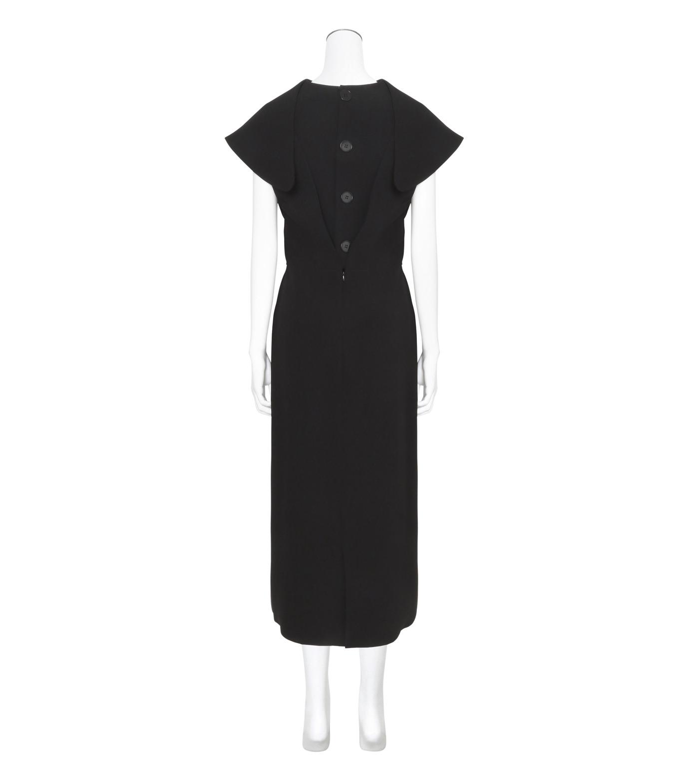 J.W.Anderson(ジェイダブリュー アンダーソン)のDeconstructed Dress-BLACK(ワンピース/one piece)-DR16-13 拡大詳細画像2